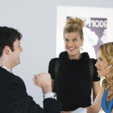 Ugly Betty: Kristen Johnston, Becki Newton e Michael Urie nell'episodio Plus None