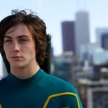 Aaron Johnson in una scena del film Kick-Ass