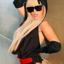 Lady GaGa alias Stefani Joanne Angelina Germanotta in una foto promo