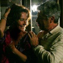 Monica Guerritore con Antonio Catania nel film 'La bella gente'.