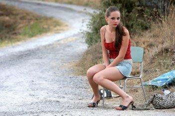 Nel film 'La bella gente' Victoria Larchenko interpreta Nadja, una prostituta