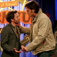 Supernatural: Rob Benedict e Jared Padalecki nell'episodio The Real Ghostbusters