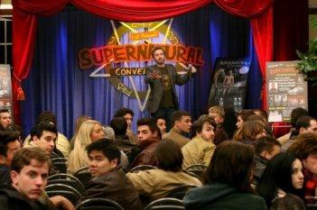 Supernatural: una scena dell'episodio The Real Ghostbusters