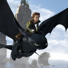 Una immagine del film Dragon Trainer (How to Train Your Dragon)