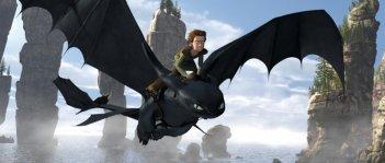 Una immagine del film Dragon Trainer (How to Train Your Dragon)