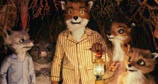 Una scena del film d'animazione The Fantastic Mr. Fox (2009)