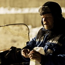 Anders Baasmo Christiansen in una sequenza del film svedese Nord (2008)