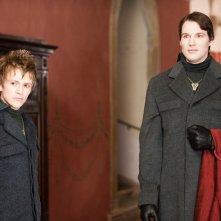 Demetri (Charlie Bewley) e Felix (Daniel Cudmore) in una scena del film Twilight Saga: New Moon