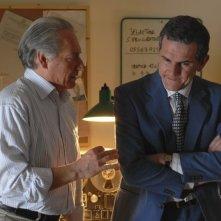 Giorgio Colangeli e Corso Salani nella fiction Il mostro di Firenze (su FoxCrime, dal 12 novembre 2009)