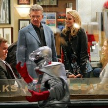 How I Met Your Mother: Neil Patrick Harris, Alan Thicke e Cobie Smulders nell'episodio The Rough Patch