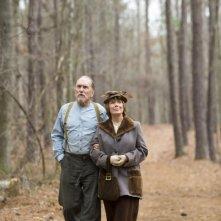 Robert Duvall e Sissy Spacek in una scena del film Get Low di Aaron Schneider