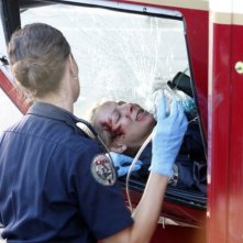 Trauma: Anastasia Griffith in una scena dell'episodio Home Court