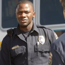 Trauma: Derek Luke in una scena dell'episodio Home Court