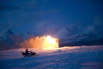 Una suggestiva scena del film Nord di Rune Denstad Langlo