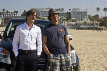 Gianmarco Tognazzi e Alessandro Gassman in una scena di Natale a Beverly Hills