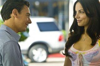 Emanuele Propizio e Michela Quattrociocche nel film Natale a Beverly Hills