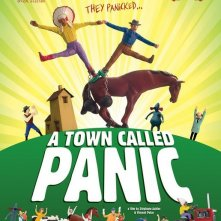 La locandina di A Town Called Panic