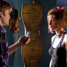Zan (David Gallagher) e Jayna (Allison Scagliotti) in una scena dell'episodio Idol di Smallville