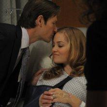 Mercy: Joshua Burrow ed Erika Christensen nell'episodio Destiny, Meet My Daughter, Veronica