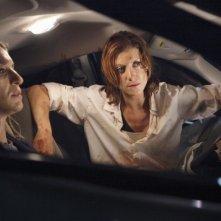 Private Practice: Kate Walsh ed Ever Carradine in una scena dell'episodio The Hard Part