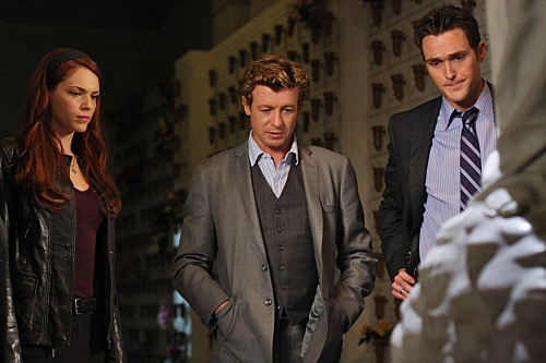 The Mentalist Amanda Righetti Simon Baker Ed Owain Yeoman Nell Episodio His Red Right Hand 138295