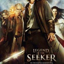Un poster della stagione 2 di Legend of the Seeker
