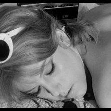 Un primo piano di Stefania Sandrelli in IO LA CONOSCEVO BENE di Antonio Pietrangeli (Italia, 1965)