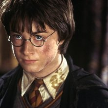 Daniel Radcliffe in un momento del film Harry Potter e la camera dei segreti