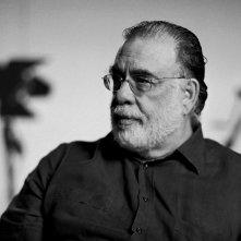 Francis Ford Coppola sul set di Segreti di famiglia (Tetro, 2009)