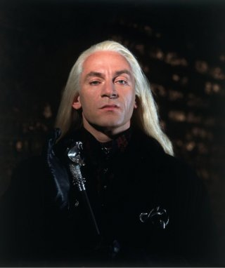 Jason Isaacs in una scena di Harry Potter e la camera dei segreti