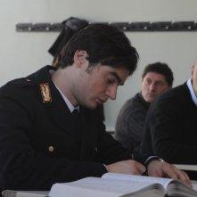 Paolo Briguglia in una scena del film La cosa giusta (2009)