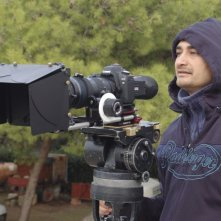 Ruben Maria Soriquez al lavoro sul set di THE FALL OF REDEMPTION