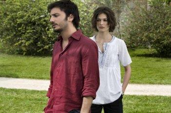 Ana Caterina Morariu con Nicolas Vaporidis in Tutto l'amore del mondo