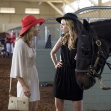 AnnaLynne McCord e Sara Foster nell'episodio And Away They Go di 90210