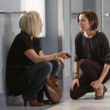 Jennie Garth e Jessica Stroup nell'episodio To Thine Own Self Be True di 90210