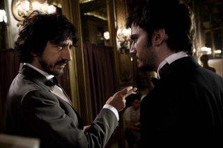 Sergio Rubini con Nicolas Vaporidis in Tutto l'amore del mondo