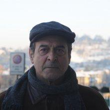 Un primo piano di Ennio Fantastichini nel film La cosa giusta (2009)