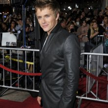 Charlie Bewley alla premiere mondiale di The Twilight Saga: New Moon, a Los Angeles