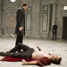 Felix  (Daniel Cudmore) ed Edward (Robert Pattinson) in una nuova immagine del film Twilight Saga: New Moon