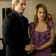 Una nuova scena del film Twilight: New Moon con Peter Facinelli e Elizabeth Reaser