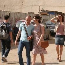 Dan Chiriac con Monica Barladeanu e Isabela Neamtu in una sequenza del film Francesca