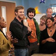 Accidentally on Purpose: Jon Foster e Lennon Parham in una scena dell'episodio Class