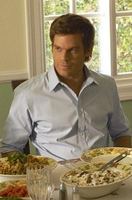 Dexter: Michael C. Hall in una scena dell'episodio Hungry Man
