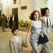 Guido Giaquinto, Valeria Golino e Sergio Rubini nel film L'uomo nero