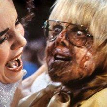 Jessica Harper e Paul Williams in una scena del film Il fantasma del palcoscenico ( 1974 )