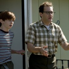 Michael Stuhlbarg e Aaron Wolff in A Serious Man dei fratelli Coen