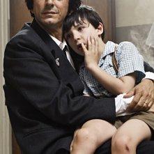 Sergio Rubini e Guido Giaquinto in una sequenza del film L'uomo nero