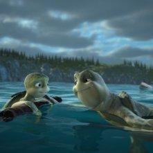 Una scena del film d'animazione Il giro del mondo in 50 anni - 3D (2009)