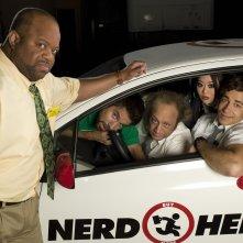 Wallpaper: una simpatica foto del cast della 2 stagione di Chuck