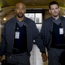 Columbus Short e Matt Dillon nel film Armored